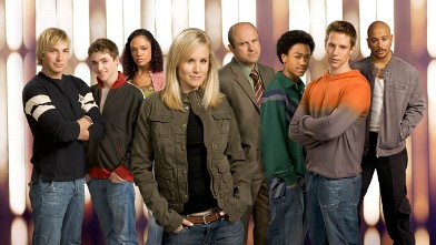 The cast of Veronica Mars