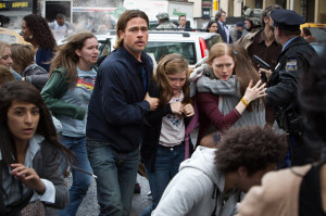 Scene from movie 'World War Z'
